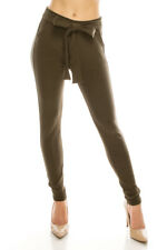 LA12ST Dress Pants for Women Stretch Comfy Work Office Pull on Trousers Pant