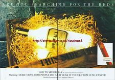 "Embassy Number 1 ""searching For The Red Line"" 1988 Magazine 2 Page Advert #3964"