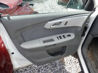 2012 Chevrolet Traverse Gray drivers door panel