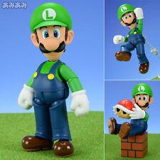 LUIGI S.H.Figuarts S.H.F Figuarts Tamashii Bandai 10 Cm Super Mario