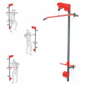 LAT PULL DOWN STATION CABLE MACHINE K-SPORT PULLEY WALL MOUNTED HOME GYM