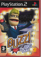Buzz! The Big Quiz PS2 Game with Manual Playstation Video Game