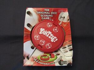 YAHTZEE IN A PORTABLE ARENA BY PARKER 2004.
