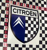 Citroen Shield Sticker - 2CV DS DS19 DS21 DS23 Ami 6 8 Arcadiane Dyane