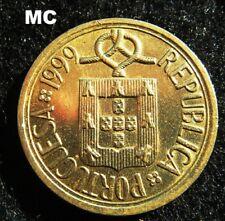 1999 Portugal 10 escudos portugueses Escudo de grado de moneda en extremadamente fino