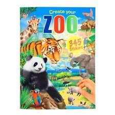 Depesche Create Your Zoo Malbuch mit 345 Stickern 11416