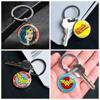DC Comic Superhero Wonder Woman Keychain Keyring Pendants Keychains Gift