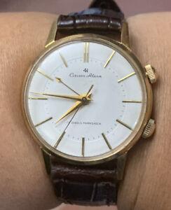 1960's Citizen Alarm 4H Manual Winding 36mm Vintage Mens Watch 15710