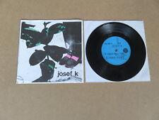"""Josef K Radio TRAPANO tempo CARTOLINE 7"""" ORIGINALE 1980 fai da te UK 1ST premendo PC 80-3"""