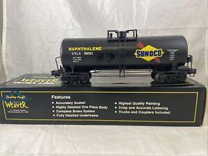 Weaver Sunoco #89031 40' Single Dome Tank Car 3 Rail #1128