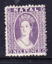 SOUTH AFRICA Natal 1863 SG23 6d lilac - wmk Crown CC - mounted mint. Cat £120