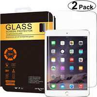 2-Pack Tempered GLASS Screen Protector for Apple iPad Air Pro 9.7 5th 6th Gen