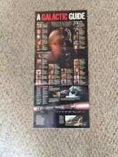 Time Magazine April 26 1999 Earth Day Phantom Menace Galactic Guide Poster