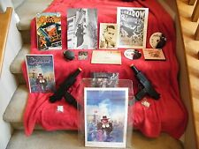The Shadow - Signed Victor Jory, Signed Comic (Mike Kaluta)