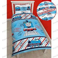 THOMAS & FRIENDS 'ADVENTURE' SINGLE DUVET COVER SET TANK ENGINE