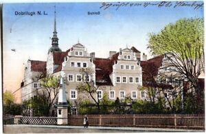 AK DOBRILUGK /DOBERLUG-KIRCHHAIN /N. L. Schloss, Straße 1917
