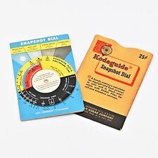 Vintage Kodaguide Snapshot Dial Light Meter Daylight & Flash