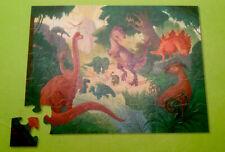 Dinosaur Kingdom Puzzle T-Rex Triceratops Apatosaurus Stegosaurus 36 Piece 4+