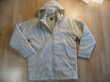 NIKE bella lunga giacca fo schematica BEIGE TG S/44/48 hl1215 Merce Nuova