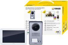 "VIMAR K40945 KIT VIDEOCITOFONO SMART TOUCH SCREEN WIFI 7"" MONOFA. ALIM. MULTISP."
