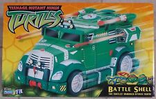 Teenage Mutant Ninja Turtles Battle Shell Armored Attack Truck NEW in Box 2002