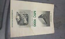 hantarex mtc 9000 service manual