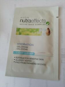 Avon 10  x true nutraeffects moisture hydration  gel-cream SAMPLES
