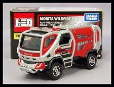 TOMICA PREMIUM 02 MORITA WILDFIRE TRUCK 1/100 TOMY DIECAST CAR