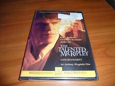 The Talented Mr. Ripley (Dvd, 2000, Widescreen) Jude Law, Matt Damon New