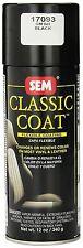 SEM 17093 Classic Coat For GM  Black Car Vinyl Or Leather Interior Paint