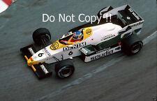 Keke Rosberg Williams FW09 Monaco Grand Prix 1984 Photograph 1