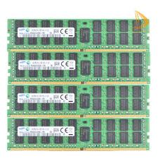 Samsung 4x 16GB DDR4 RAM 2RX4 PC4-2133P 2133Mhz PC4-17000 ECC REG Server Memory