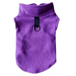 Autumn Dog Thicken Vest Solid Color Vest Warm Pet Supplies Universal Fleece Vest