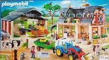 PLAYMOBIL Bauernhof 4055 Mega-set komplett mit Claas Mähdrescher wNEU