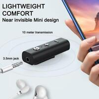 Bluetooth 5.0 Receiver For 3.5mm Jack Adapter Headphones Aux Bluetooth P6J6
