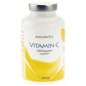 Amlawell Vitamin C 900mg 200 Kapseln 204.6 g (5,71€  / 100 g)