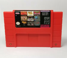 Super 100 in 1 Game Cartridge 16 bit SNES NTSC Nintendo Multicart USA version
