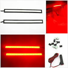 Car SUV Interior Charge Red COB LED Floor Footwell Decorative Atmosphere Lights