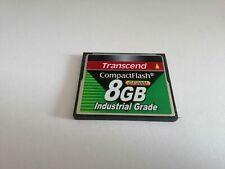 Transcend Compact Flash Card 8GB Industrial Grade CF200I