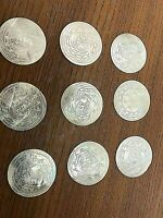 ANTIQUE 18TH & 19TH CENTURY CHINESE MOTHER OF PEARL GAMING CHIPS (CIRCULAR)