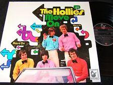 THE HOLLIES Move On / unique German LP 1969 HANSA 80826 IT
