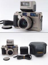 N.Mint++ Contax G2 Data Back, Planar 45mm Lens, TLA200 Flash, Etc from Japan#s22