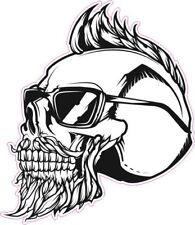 Groovy Skull Hipster sticker