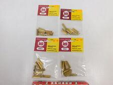 CA671-0, 5 #4x LGB G Scale / Iim 1000/1 Packs Track Connector, Mint +Box