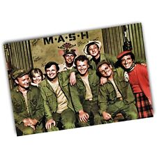 4077th MASH Television Show Cast Hawkeye Radar and More Color 4x6 Inch Magnet