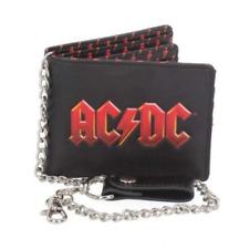 Nemesis Now ACDC Wallet 11cm PU Black One Size