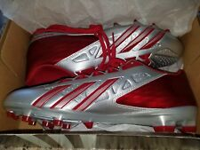 New Adidas Crazyquick 2.0 Football Cleats S83668 - SILVER Mens Size 11.5 COOL!