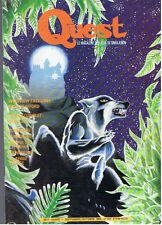 QUEST LE MAGAZINE DES JEUX DE SIMULATION N°1  sept/oct 1990
