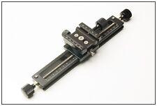 "10"" micro/focusing rail 4 kirk markins arca swiss acratech benro wimberley rrs"