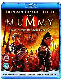 THE MUMMY - TOMB OF THE DRAGON EMPEROR BLU-RAY QUICK DISPATCH